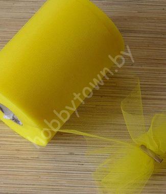fatin-sredney-zhyostkosti-shirina-15-sm-otrez-1-metr-tsv-limonnyiy