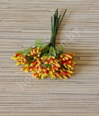 - Бутончики, букетики из тычинок, лепестки, листики. Корелис.