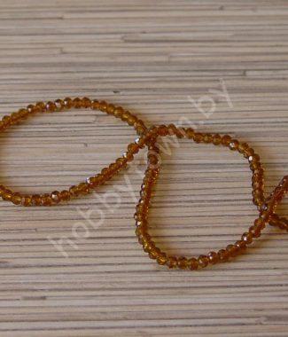 businyi-steklyannyie-rondelle-4-mm-tsv-korichnevyiy-117