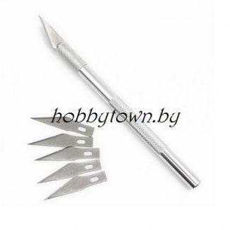 - Макетные ножи, маты для резки