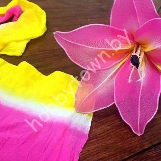 - Капрон для создания цветов